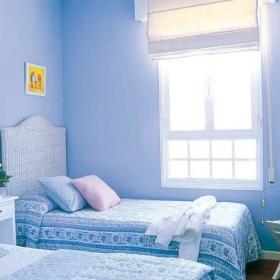 儿童房白色家具设计方案