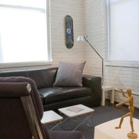 单身汉潮搭70平灰色气质公寓