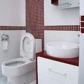 现代卫浴马赛克案例展示