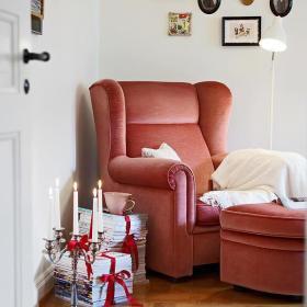 欧式沙发脚凳单人沙发设计案例展示