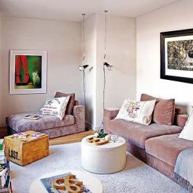 时尚客厅沙发单人沙发图片