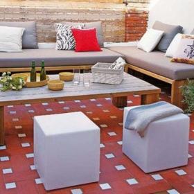 花园沙发休闲沙发装修图
