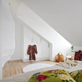 异形空间 92平阁楼房创意设计