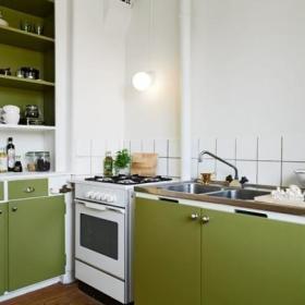 厨房单身公寓图片