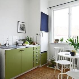 厨房餐桌圆餐桌设计案例