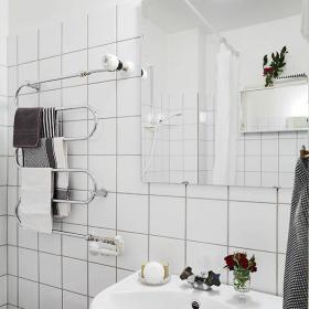 卫生间浴巾装修图
