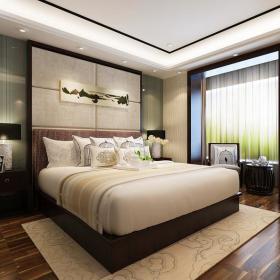 卧室台灯单人沙发设计图