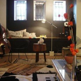 茶几椅子椅毯子装修效果展示