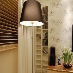 宜家客厅背景墙电视背景墙壁纸CD架设计案例