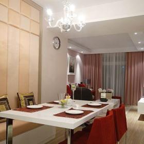 现代时尚餐厅餐桌装修案例