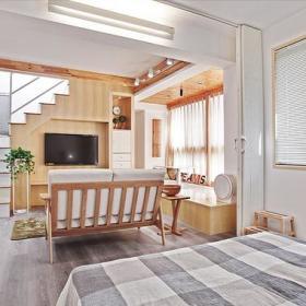 自然卧室沙发双人沙发设计图