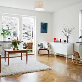 宜家客厅装饰品装修案例