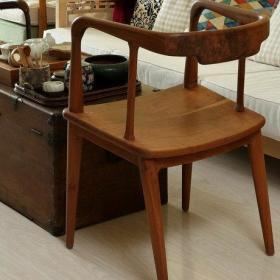 美式北欧混搭宜家客厅椅子椅图片
