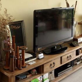美式客厅电视柜设计图