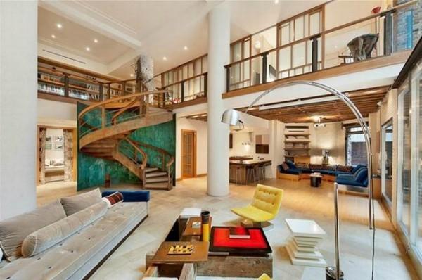 loft建筑与loft室内跃层隔层复式公寓结合体的装修图片图片