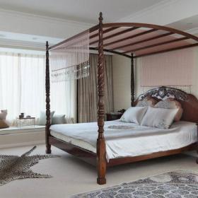 法式卧室大床设计方案