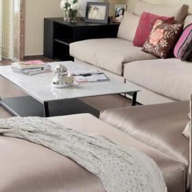 客厅餐厅沙发转角沙发设计案例