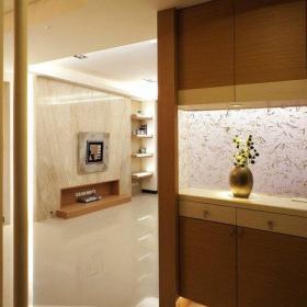 客厅玄关隔断玄关柜设计案例