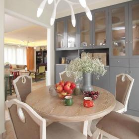 宜家餐厅餐桌储物柜灯具案例展示