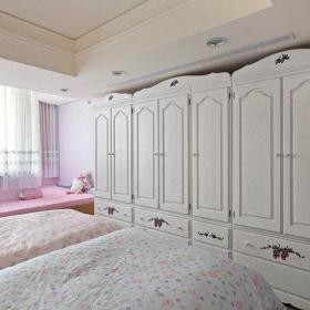 美式卧室衣柜整体衣柜设计图