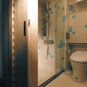 卫浴玻璃门案例展示