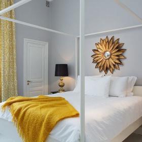 卧室窗帘毯子装修案例
