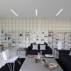 客厅书架设计方案