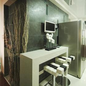 现代厨房吧台椅设计图