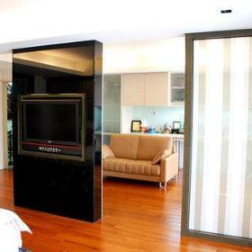 客厅沙发电视柜装修图