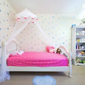 浪漫公主床壁纸设计方案