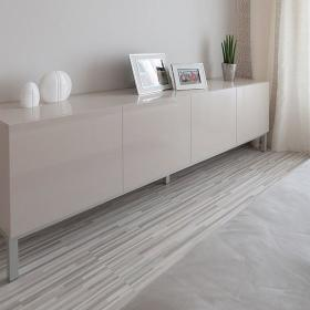 纯白无暇 98平米现代整洁公寓