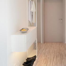 简约玄关玄关柜鞋架设计案例