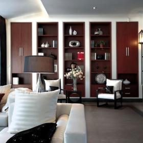 中式客厅收纳设计图