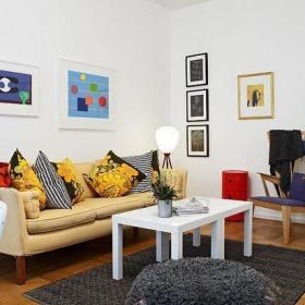 北欧风格56平米旧公寓翻新