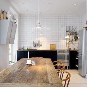 自然厨房餐桌实木餐桌餐桌椅实木餐桌椅椅设计图