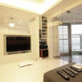现代客厅酒柜设计案例