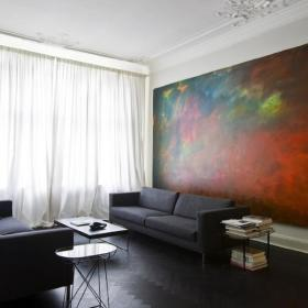 客厅窗帘装修效果展示