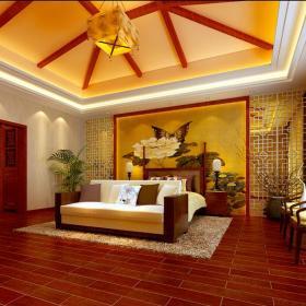 中式混搭现代时尚中式风格新中式别墅装修案例