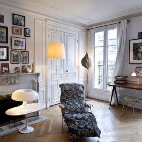 美式清新时尚美式风格客厅装修案例