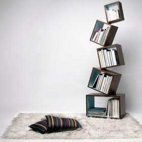 书柜图片大全 用知识装饰家居