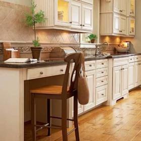 单独规划办公区 厨房备好工作灯