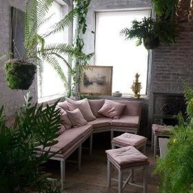 田园沙发植物设计方案