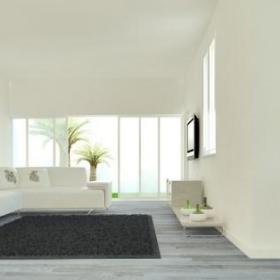 现代简约清新现代简约温馨时尚简约风格现代简约风格前卫客厅植物木地板设计案例