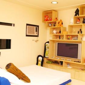 时尚卧室电视柜设计图