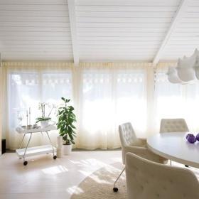 书房窗帘效果图