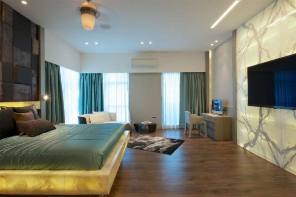 印度现代风格公寓设计
