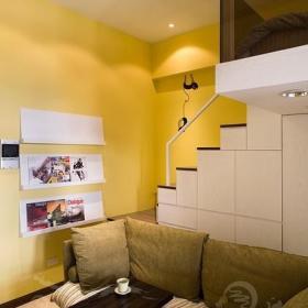 宜家客厅餐厅沙发双人沙发装修案例