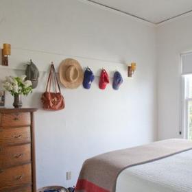 自然其他风格客厅卧室大床柜子装修案例