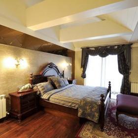 田园卧室木质地板设计案例展示