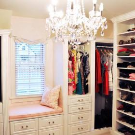 卧室衣帽间衣柜图片